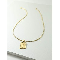 Gold Giovanni Necklace