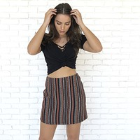 All Day Jacquard  Skirt