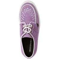 Underground Wulfrun Creepers Shoes Lilac