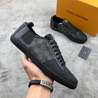 LV Louis Vuitton Men Fashion Casual Sports Shoes Size 38-44