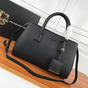 prada newest popular women leather handbag tote crossbody shoulder bag satchel 82