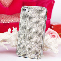 Luxury Crystal Bling Chain Plating Case Capa for iPhone 7 6 6 plus 5s 5 5C 4s 4 Samsung Galaxy S7 S7 Edge S4 S5 S6 S6 Edge
