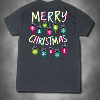 Sweet Thing Merry Christmas Xmas Ornament Girlie Bright T-Shirt