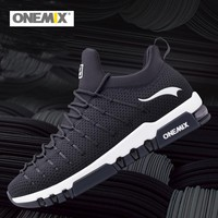 2018 NEW Onemix Men's Running Shoes Women Outdoor Breathable Sneakers For Men Sport Shoes Athletic Zapatillas Walking Shoes 1295