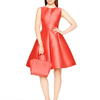 Kate Spade Heritage Fit And Flare Dress Geranium