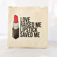 Breakups To Makeup Canvas Pouch