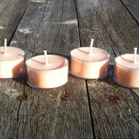 Peach  Soy Tealights Soy Candles