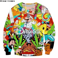 The Cartoons of Drugs Outfits - Hoodies, Socks, Tees, and More