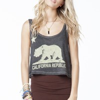 Mirella Grizzly Bear Top