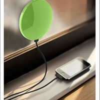 1800mAh factory solar mobile charger /window solar charger/CHARGE YOUR PHONE ANYWHERE!!