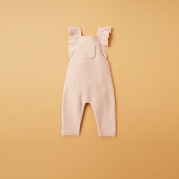 KNIT DUNGAREES WITH STRAPS