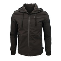 Spring and Autumn Men'S Casual Fashion Printing Personalized Street Windbreaker Jacket 7768