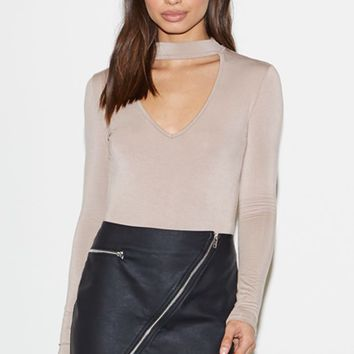 Faux Leather Zip Mini Skirt