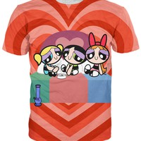 Powerpuff Puff Pass Girls T-Shirt