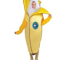 Forum Novelties Fruits and Veggies Collection Appealing Banana Child Costume, Small