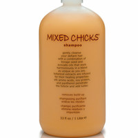 gentle clarifying shampoo removes oil and product buildup from curly hair, kinky hair, wavy hair and straight hair