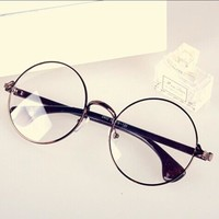 Rack Vintage Metal Mirror Unisex Decoration Glasses [11405235215]