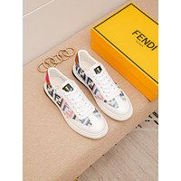 FENDI 2021 Men Fashion Boots fashionable Casual leather Breathable Sneakers Running Shoes06150cx