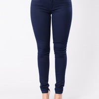 Kayla Pants - Navy