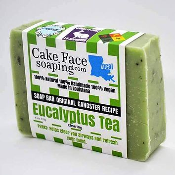 Eucalyptus Tea Natural Soap