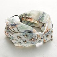Ipanema Turban Band by Anthropologie in Sky Size: One Size Hair