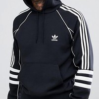 ADIDAS 201 autumn and winter new men's casual sports hooded sweater