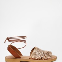 ASOS FRUITY TUTTY Lace Up Sandals