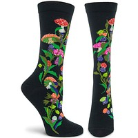 Witches Garden Amanita Muscaria Sock