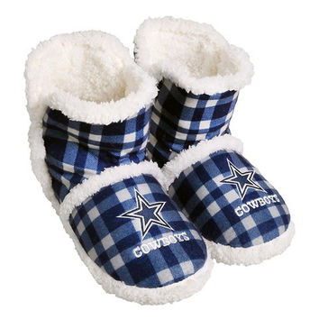 Dallas Cowboys  Official NFL Flannel Sherpa Boots