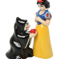 Disney Snow White And Witch Magnetic Salt & Pepper Shaker Set