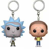 "PopShop - ""Rick & Morty"" Key Chain"