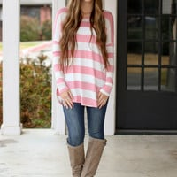 Stripe Tunic - Pink
