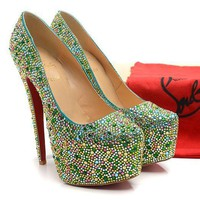CL Christian Louboutin Fashion Heels Shoes-99