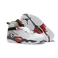 Cheap Nike Air Jordan 8 Retro Men Shoes Glow Vamp