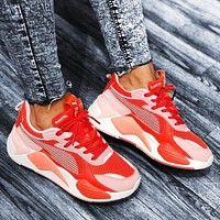 Onewel PUMA RS-X Reinvention man women's shoes retro old shoes red