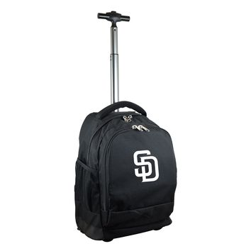San Diego Padres Wheeled Premium Backpack