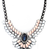 Double or Nothing Necklace in Blush