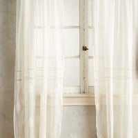 Consiglia Curtain by Anthropologie in Cream Size:
