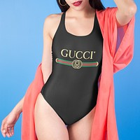 Louis Vuitton LV /Versace/Fendi /Gucci / Tank Thong Bodysuit Swimwear