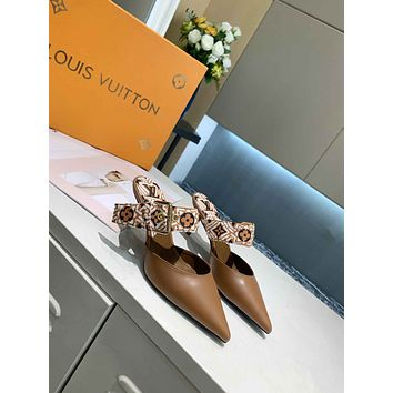 LV Women Casual Shoes Boots fashionable casual leather01GH