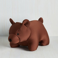 Quirky Bear You've Been Travel Pillow by Kikkerland from ModCloth