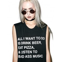 ALL I WANT MUSCLE TEE