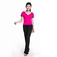 Women's Yoga sets Workout Clothes Suit Modal Female Comfortable Pants And Shirts Containing