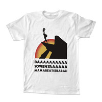 hakuna matata quote For T-shirt Unisex Adults size S-2XL Black and White
