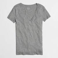 Factory layering V-neck tee : short sleeve | J.Crew Factory