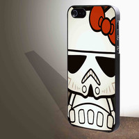 Hello Kitty Stormtrooper for iphone 4/4s/5/5s/5c/6/6+, Samsung S3/S4/S5/S6, iPad 2/3/4/Air/Mini, iPod 4/5, Samsung Note 3/4 Case **