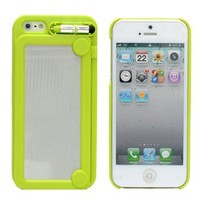 Creative Writing Drawing Doodle Scribble Board Pad Case Cover for iPhone 5 6th Green