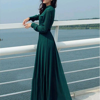 Sexy WOMEN MAXI Chiffon Evening Formal Party Cocktail Bridesmaid Prom Gown Dress