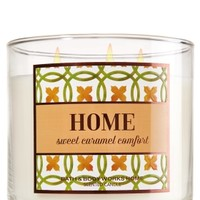 3-Wick Candle Home - Sweet Caramel Comfort