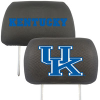 Kentucky Wildcats NCAA Polyester Head Rest Cover (2 Pack)